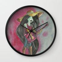 marceline Wall Clocks featuring marceline by Dan Solo Galleries