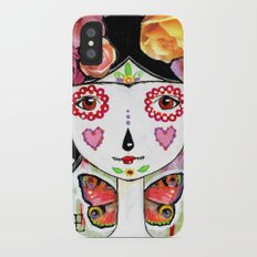 I Love You More Than My Own Skin Slim Case iPhone X