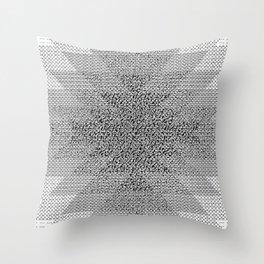UFOlk 3 Throw Pillow