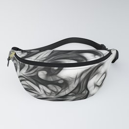 Glowing Floral Invert Fanny Pack