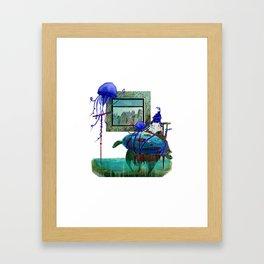 Caretta Framed Art Print