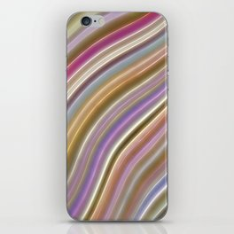 Wild Wavy Lines VI iPhone Skin