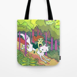 A Forest Romp Tote Bag