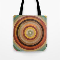 mod Tote Bags featuring Mod  by Lori Wemple