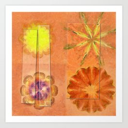 Internarial Concord Flowers  ID:16165-011657-19151 Art Print