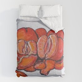 Juicy Tangerines Comforters