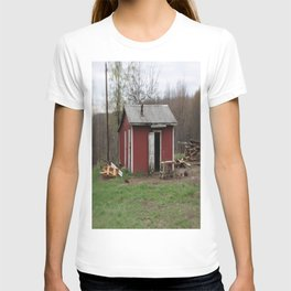 Little house in West Virginia T-shirt