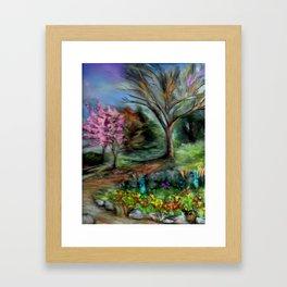 Spring at Descanso Gardens Framed Art Print