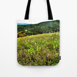 White Mountains View Photography Tote Bag