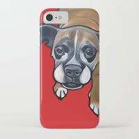 lucy iPhone & iPod Cases featuring Lucy by Pawblo Picasso