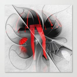 waterworld - fractal design Canvas Print