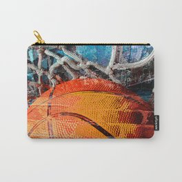 Basketball art swoosh vs 14 Carry-All Pouch