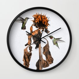 Drought Wall Clock