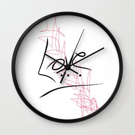 Love KA Wall Clock