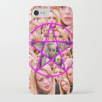 pentagram iPhone & iPod Cases featuring HOLY PENTAGRAM by plasticdesigns