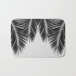 Palm Leaf Black & White II Bath Mat