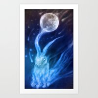 returns Art Prints featuring Bluebell Returns by ShadowPaw Pictures