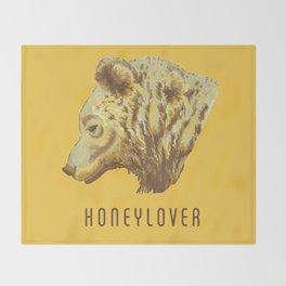 Honeylover Throw Blanket