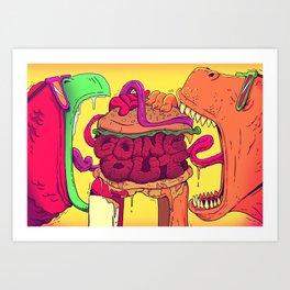 CHOMP! Art Print