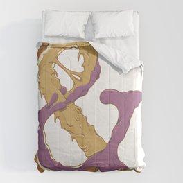 Peanut Butter & Jelly Comforters