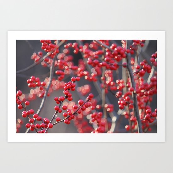 Christmas Sparkles Art Print