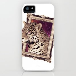 Space Jaguar iPhone Case