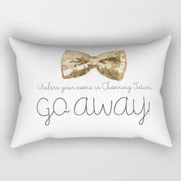 Channing Tatum Rectangular Pillow