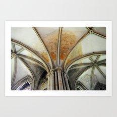 Bayeux Archways Art Print