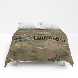 Airborne (Camo) Comforters