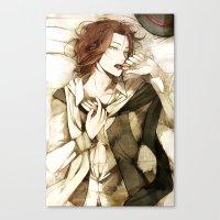 macaron Canvas Prints featuring macaron by arriku