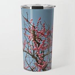 Japanese Plum Blossoms Travel Mug