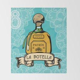 La Botella Throw Blanket