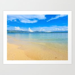 Cowrie Island Art Print