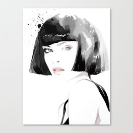 Fashion Painting #8 Canvas Print