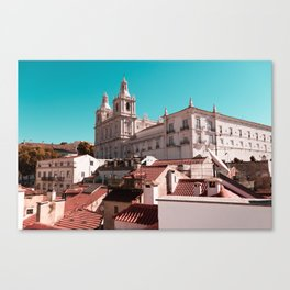 Terracotta Roofs Canvas Print