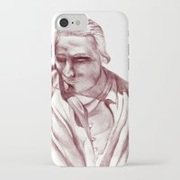 actor iPhone & iPod Cases featuring 1898 Stage actor by seb mcnulty