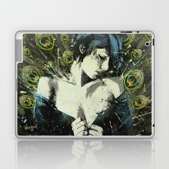 Black Pea Laptop & iPad Skin