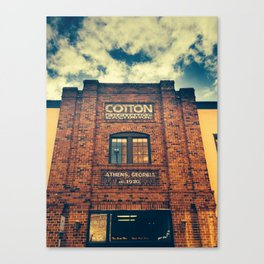Cotton Exchange Canvas Print