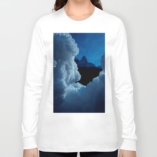 Snowed in #1 #art #society6 Long Sleeve T-shirt