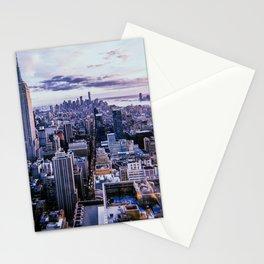 New York City // Retro 4 Stationery Cards