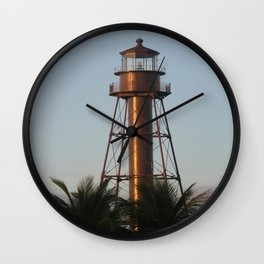 Sanibel Light Wall Clock