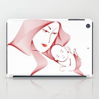 mother iPad Cases featuring Mother by nitishckumar