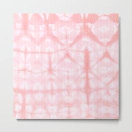 Tie Dye 3 Pink Metal Print