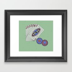 Hey boy, what's your game Framed Art Print