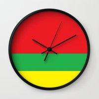 marley Wall Clocks featuring Marley bars by ivette mancilla