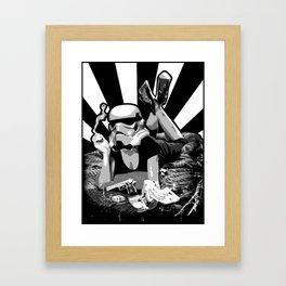 Pulptrooper Framed Art Print