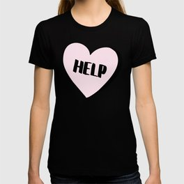 Help Candy Heart T-shirt