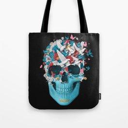 Skull Wings Tote Bag