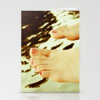feet Stationery Cards featuring Feet by Upperleft Studios