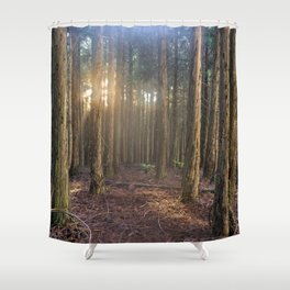 Polipoli's Enchanted Forest Shower Curtain